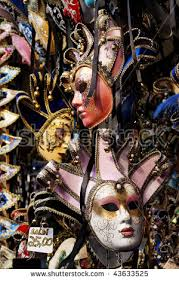 carnival masks for sale italian carnival masks on sale market stock photo 43633525