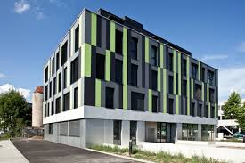 immeuble de bureaux deux immeubles de bureaux et commerces à strasbourg neuhof
