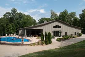 full 42 60 metal building home w pool u0026 chill out area hq
