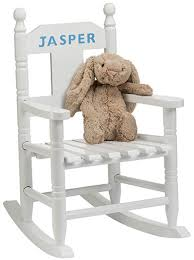 White Childs Rocking Chair Toy Boxes U0026 Chairs
