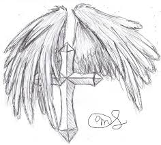 cross with wings by demonicdjkitty on deviantart
