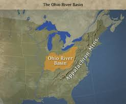 Ohio Rivers Map by Ohio River Basin Part Of Pilot Water Quality Trading Market Program