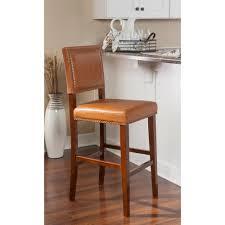 cushioned bar stool safavieh thompson 30 in sky blue cushioned bar stool mcr4505g