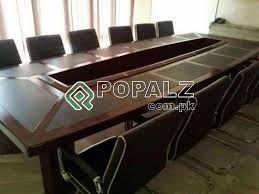 Detachable Conference Table Conference Table Detachable Chocolate Brown Color Office