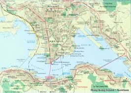 Shenyang China Map by Hong Kong Map Map Of Hong Kong Kowloon China Hong Kong Travel Map