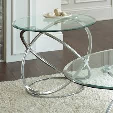 Chrome And Glass Coffee Table Atemberaubend Steve Silver Orion 3 Piece Glass Top Coffee Table