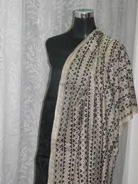 Meaa by Buy Kantha Hand Embroidery Tussar Silk Dupatta Online Craftsvilla