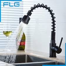 Black Pull Out Kitchen Faucet Popular Pull Out Kitchen Sink Faucet Black Buy Cheap Pull Out