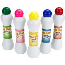 set of five standard bingo daubers