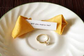 how does a fortune cookie proposal work mental floss