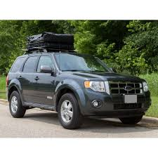 Ford Escape Lift Kit - deluxe auto cargo kit car roof rack basket and bag combo
