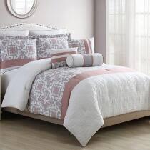 Pink And Gray Comforter Bed Comforters Comforter Sets Reversible Comforters Duvets