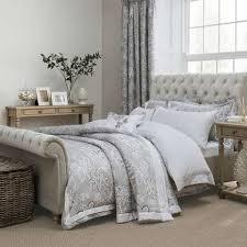 dorma samira grey duvet cover dunelm