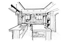 kitchen design sketch completure co