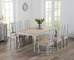shabby chic dining table buy the parisian 175cm grey shabby chic dining table with chairs at