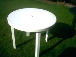round resin patio table white plastic patio table and chairs appealing plastic round patio