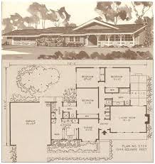open ranch style floor plans house plans 1950s 1960s ranch style house floor plans southern