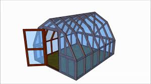 shed greenhouse plans barn greenhouse plans youtube