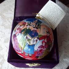 li bien ornament inside painting glass pier 1