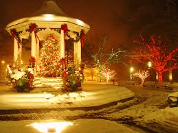 town square christmas tree and gazebo an absolute beautiful