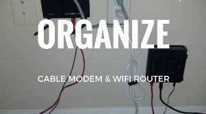 how to organize cables under desk how to organize a desk router cable modem rob ainbinder
