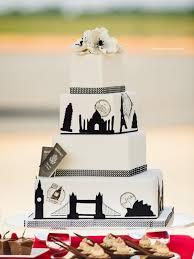themed wedding cakes simple yet interesting travel themed wedding cake wedding