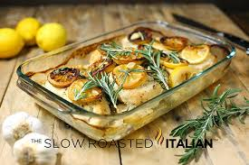 Baked Chicken Breast Dinner Ideas Rosemary Lemon Roasted Chicken With Video