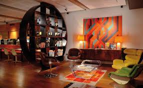 interior design retro vintage warm sunlight room wallpaper antique