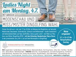 Haus Einkaufen Ladies Night Am Montag Den 4 Juli U2013 Modenschau Und Miss Mister