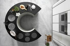 ilot rond cuisine idées pour une cuisine moderne et design