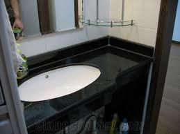 Granite Bathroom Vanity Top by Black Galaxy Bathroom Vanity Tops Galaxy Black Granite Bathroom
