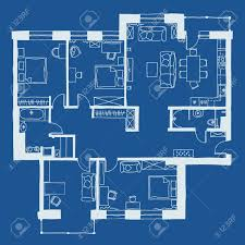 official blueprints and floor plans home ideas vector illustration apartments floor plan stock house blueprint architecture
