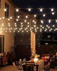 backyard string lighting ideas photo album patiofurn home design