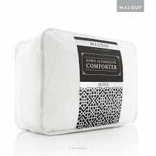 Pottery Barn Down Comforter Amazon Com Malouf White Goose Down Alternative Comforter 250