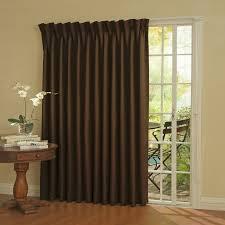 Blackout Door Panel Curtains Eclipse Thermal Blackout Patio Door Curtain Panel Walmart