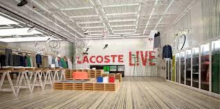 lacoste siege lacoste l ve concept stores corners franklin azzi architecture