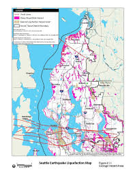 Washington State Earthquake Map by Cascadia Hazards Institute