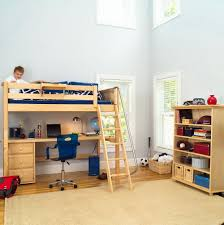 bunk bed with desk and dresser underneath home design ideas