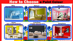 how to choose a paint colour visual ly