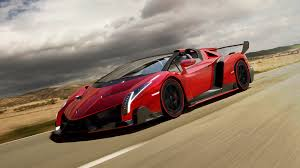 cartoon lamborghini veneno roadster