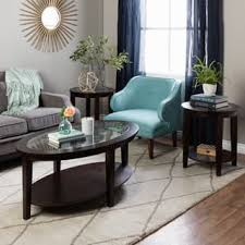 Table Sets For Living Room | table sets coffee console sofa end tables for less overstock com