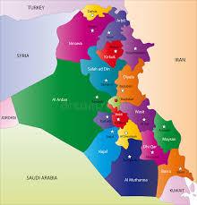 map of irak map of iraq stock vector illustration of computer illustration