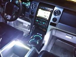 Ford F150 Truck Interior Accessories - how to install f150 interior led ambient lighting wireless control