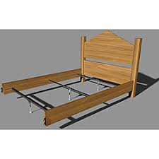 Metal Bed Frame Support Shop For Mantua Steel Rail Support System For Wood Beds Get Free