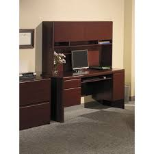 Bush Computer Desk With Hutch by Amazon Com Northfield Collection Credenza Kitchen U0026 Dining