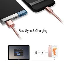 Rock For Iphone Cable 100cm 180cm 20cm 2 1a Fast Charger Lighting