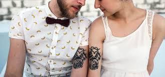 10 classy couple tattoo designs