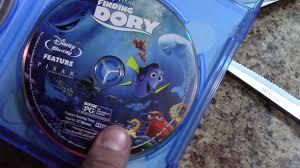 disney u0027s pixar finding dory blu ray dvd digital hd bonus