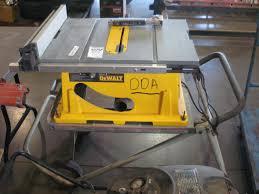 Table Saw Motor Dewalt Dw744 10