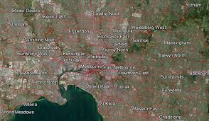 Google Maps Engine Lite Melbourne Map Of Key Cycling Transport Routes Infrastructure And